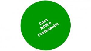 Cosa NON è l'osteopatia