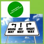 scegliere, direzione, cambiare